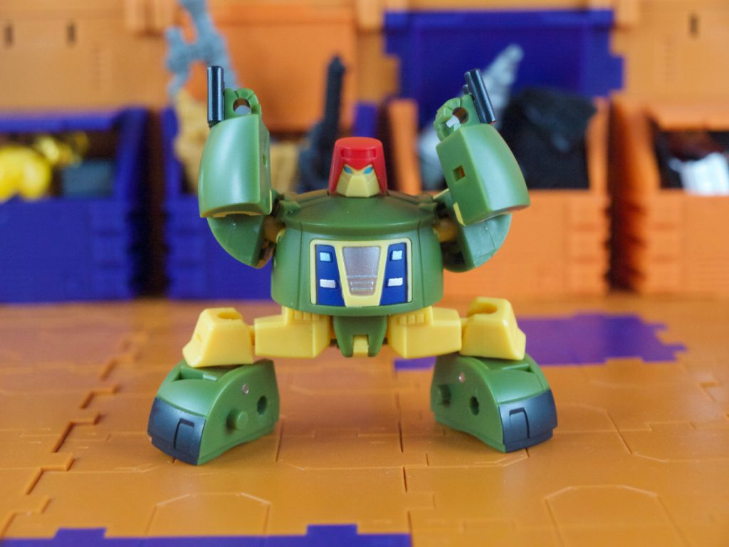 Max robot mode articulation