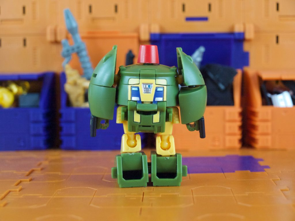 Max robot mode back view