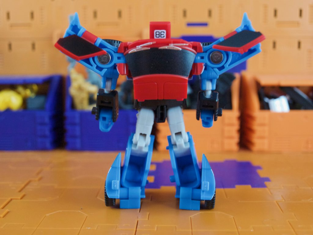 Maverick robot mode back view
