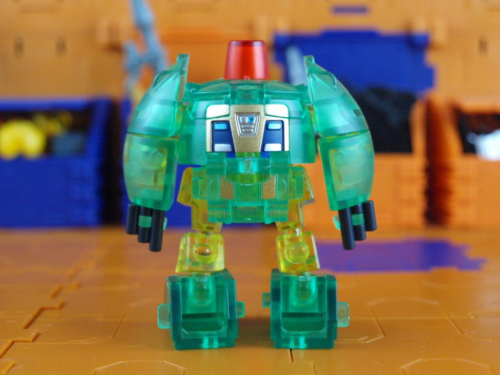 Clear Max robot mode back