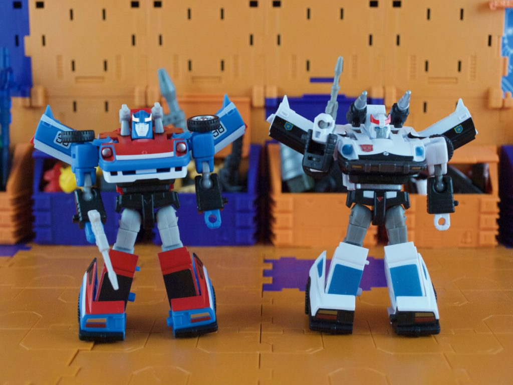 Maverick and Harry robot mode