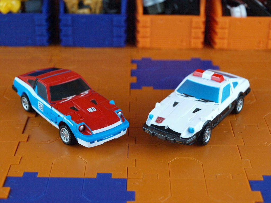 Maverick and Harry vehicle mode