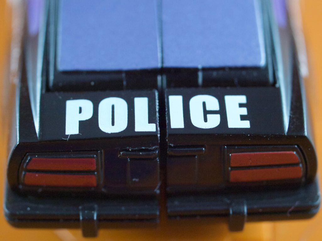 Alonzo vehicle POLICE