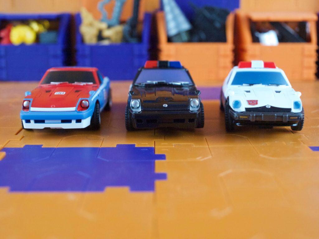 Maverick, Alonzo and Harry vehicle mode
