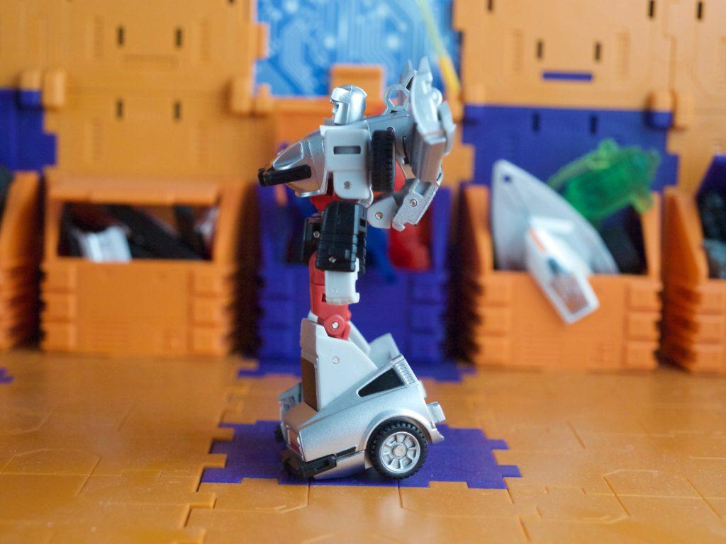 Black Rain robot mode side