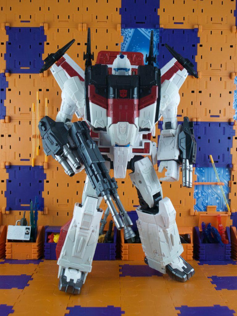 Jetfire in armor