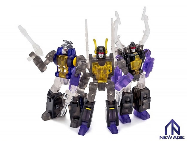 New Age Toys clear Insecticons