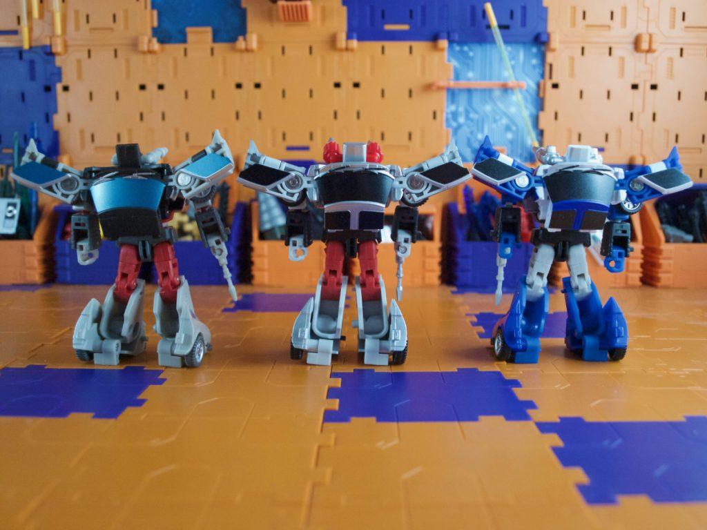 Black Rain comparisons robot back