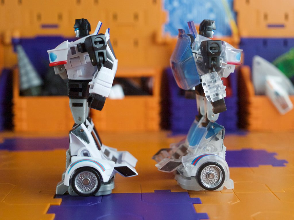 Kagamusha with Manero robot mode