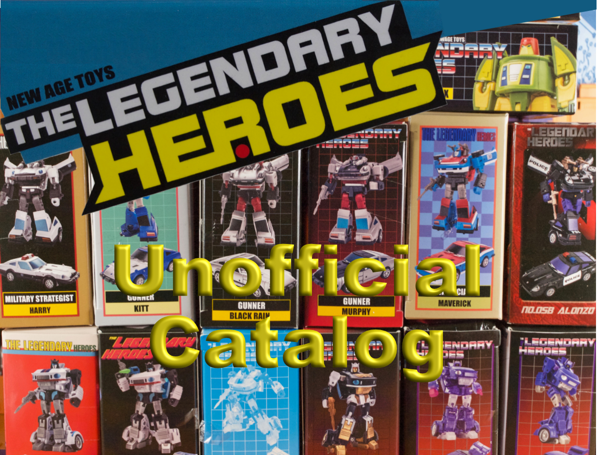 Legendary Heroes Unofficial Catalog