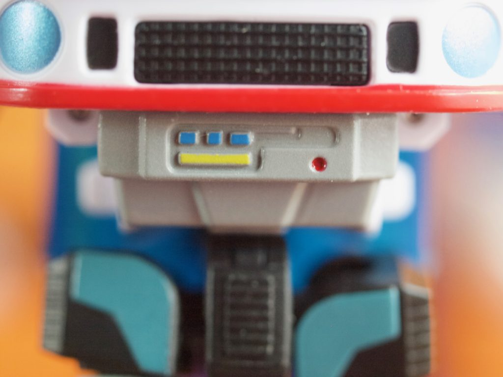 Maneros robot mode chest details