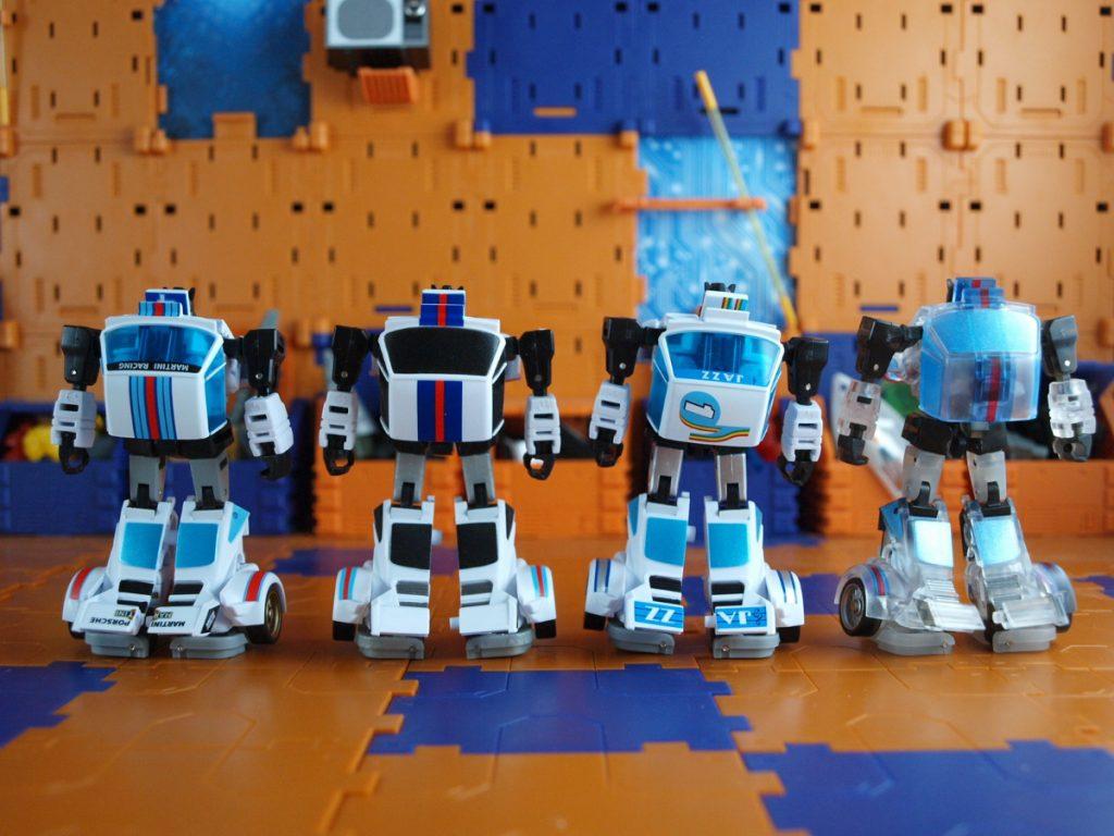 Maneros robot mode back