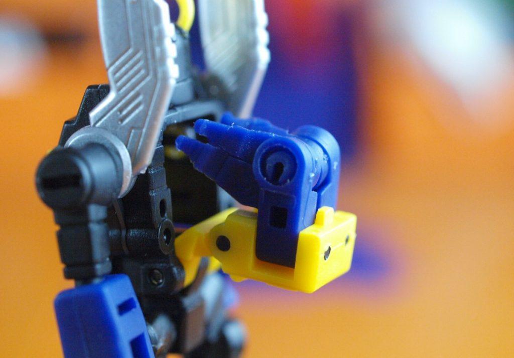 Abadon robot mode back open