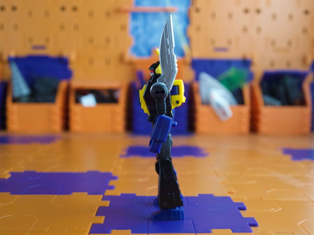 Abadon robot mode side