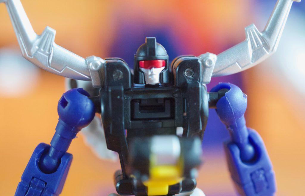 Berial robot mode chest open