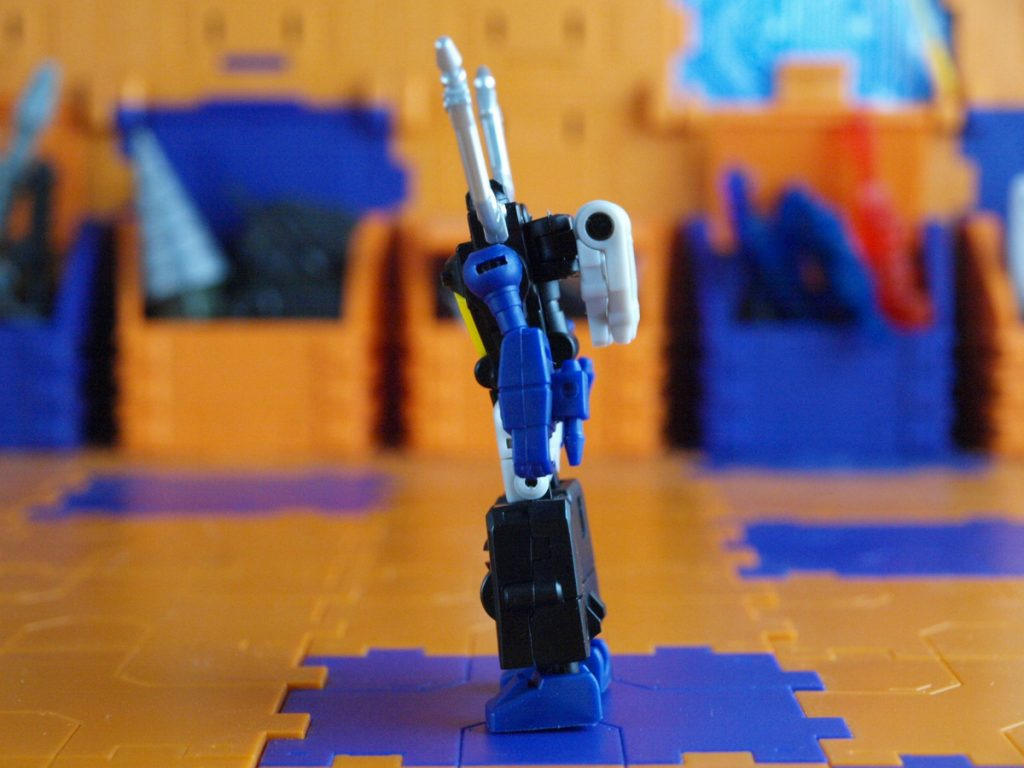 Berial robot mode side