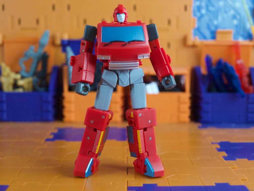McCoy robot mode