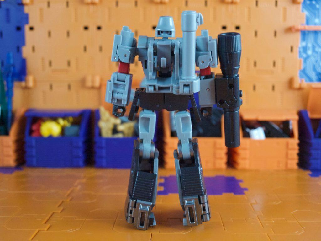 Agamenmnon robot mode back view
