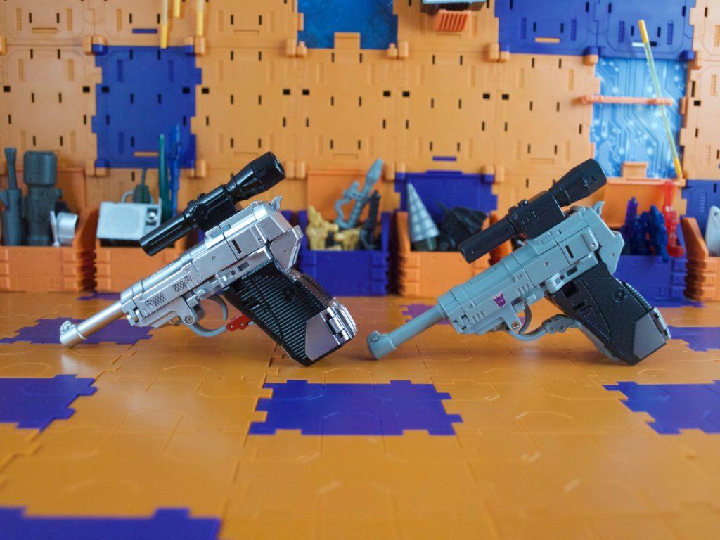 Hynkel comparison with Agamenmnon pistol mode