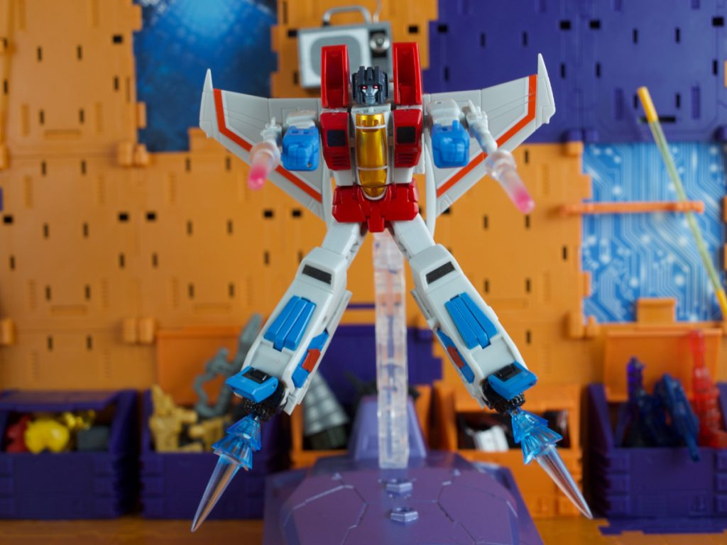 Spacebridge with Lucifer robot mode
