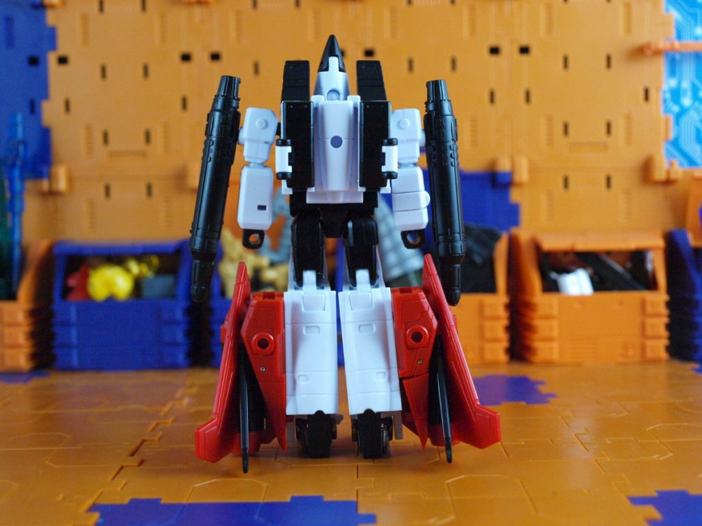 Beelzebul robot mode back view