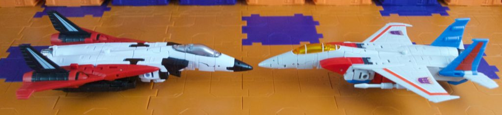 Beelzebul comparison with Lucifer in jet mode side view