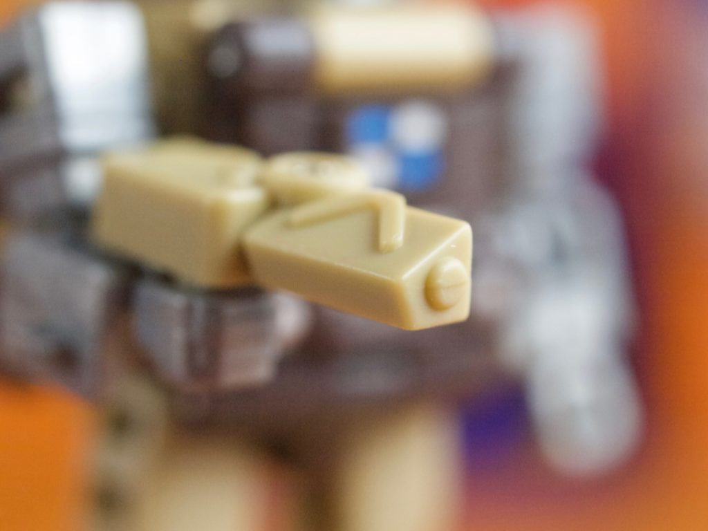 Gas tank pistol