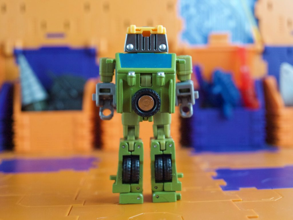 Hogan robot mode back view