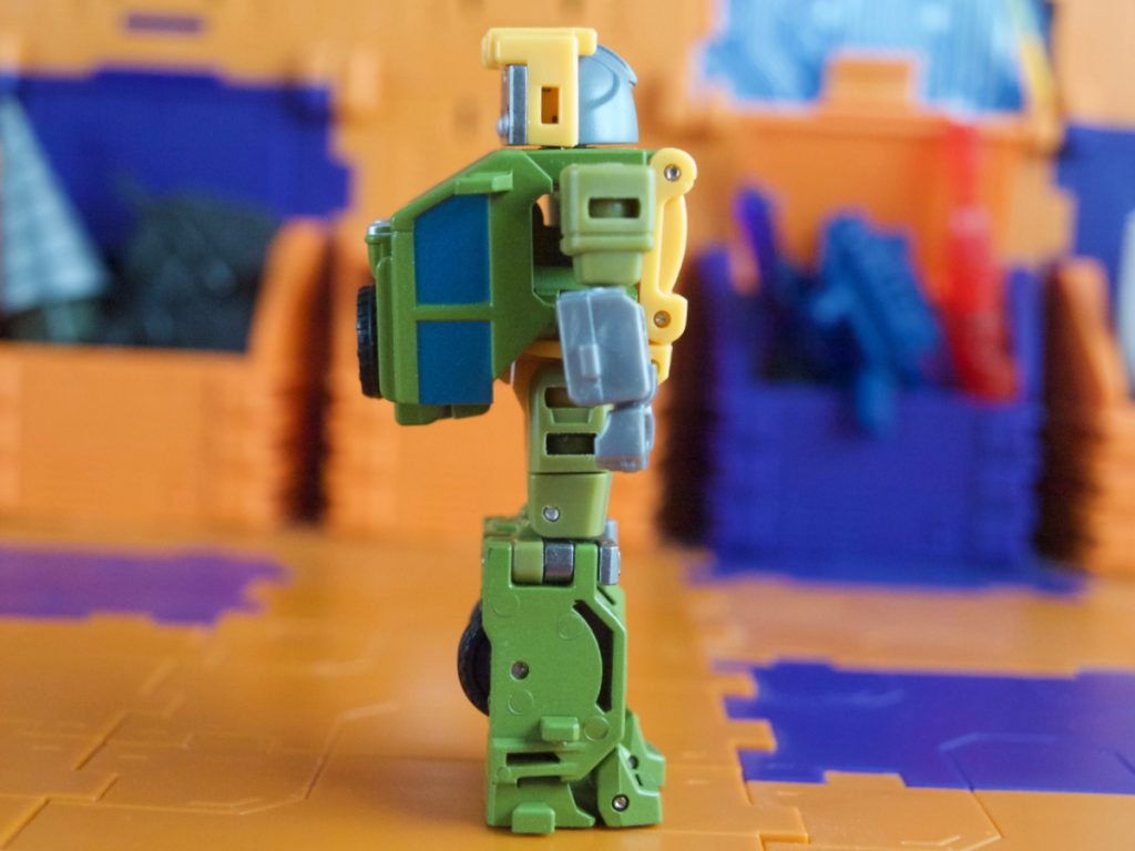 Hogan robot mode side view
