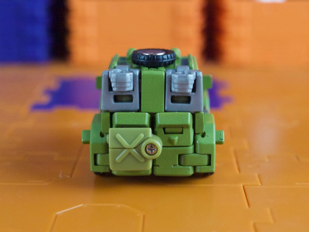 Hogan vehicle mode back view