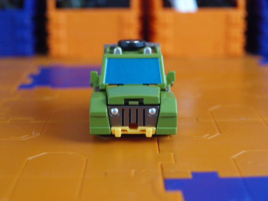 Hogan vehicle mode front view
