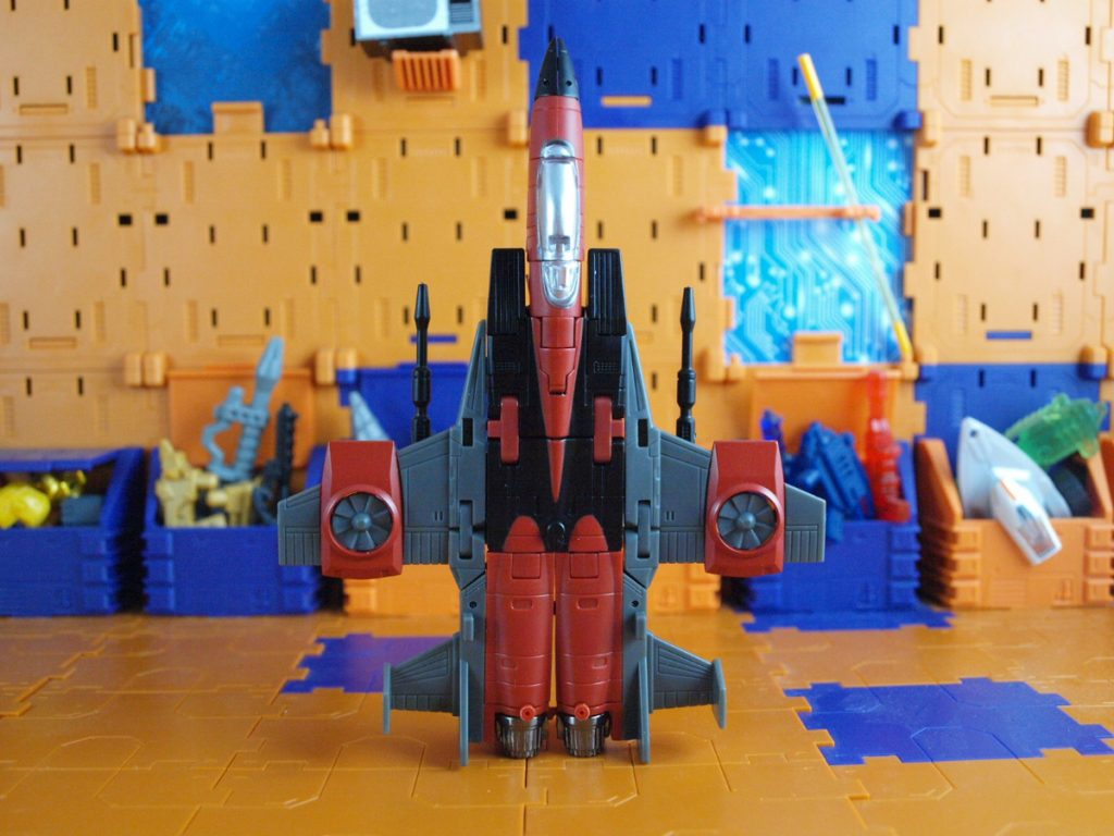 Mammon jet mode top view