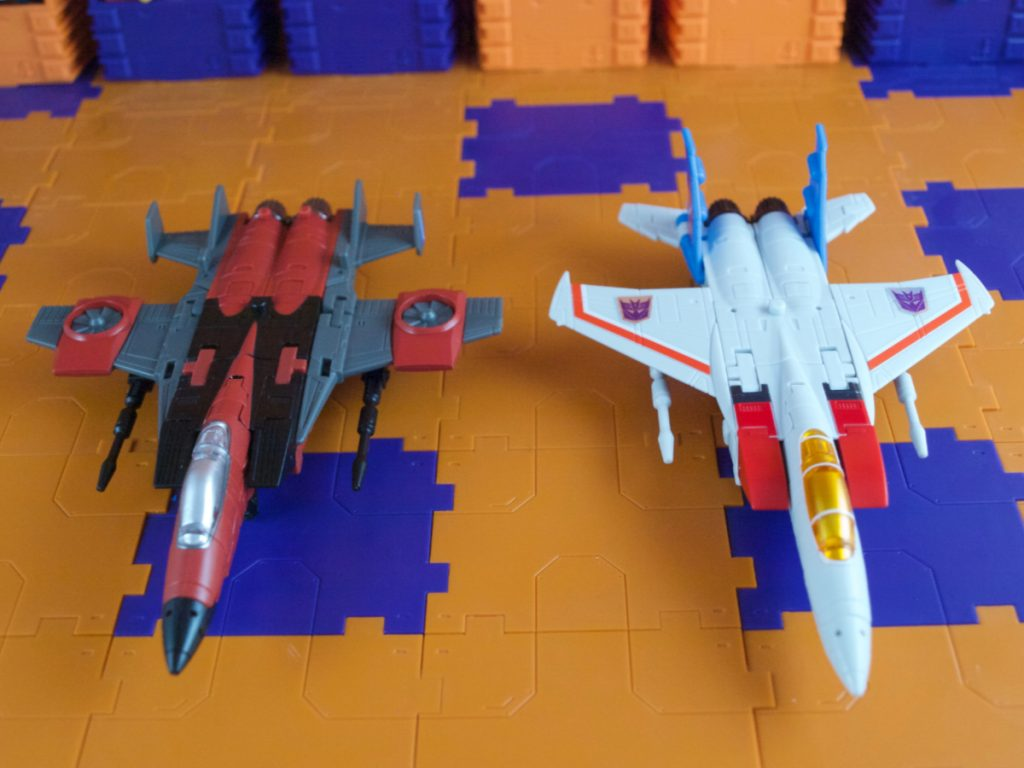 Mammon comparison with Lucifer in jet mode