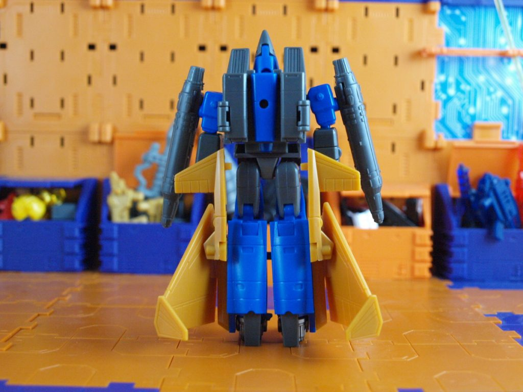Mephisto robot mode back view