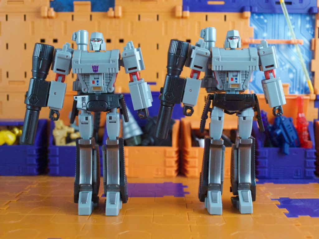 Robot mode comparison