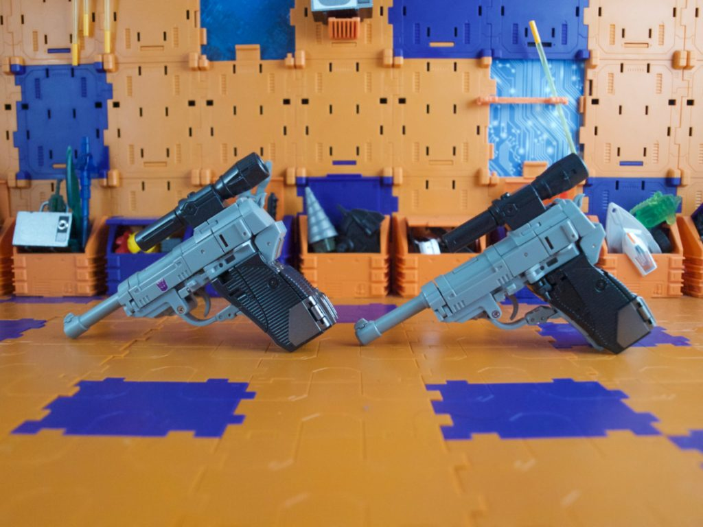 Pistol mode comparison