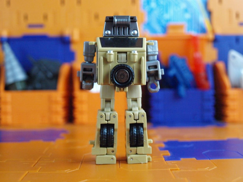 William Bonney robot mode back view