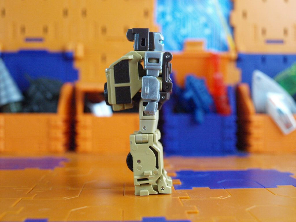 William Bonney robot mode side view