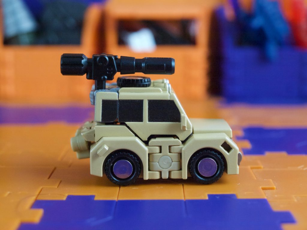 William Bonney vehicle mode side view