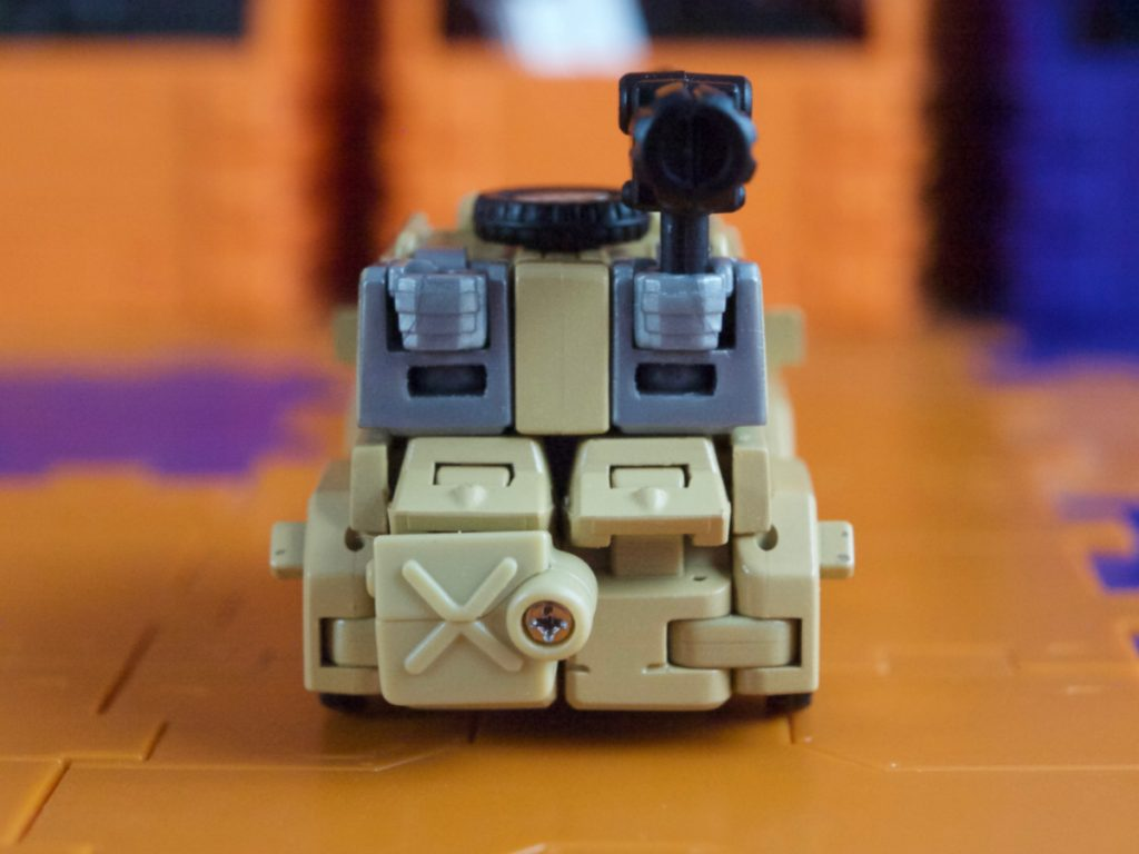 William Bonney vehicle mode back view