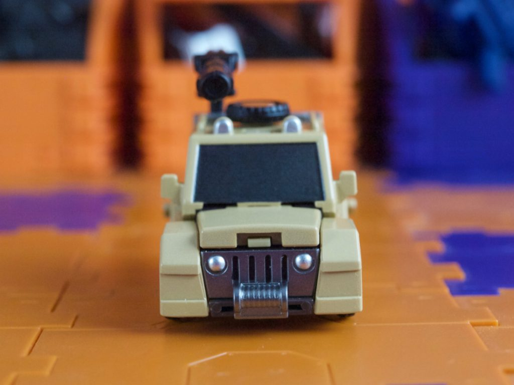 William Bonney vehicle mode front view