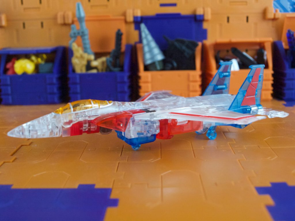 Clear Lucifer jet mode