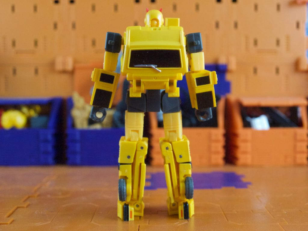 Tata robot mode back view