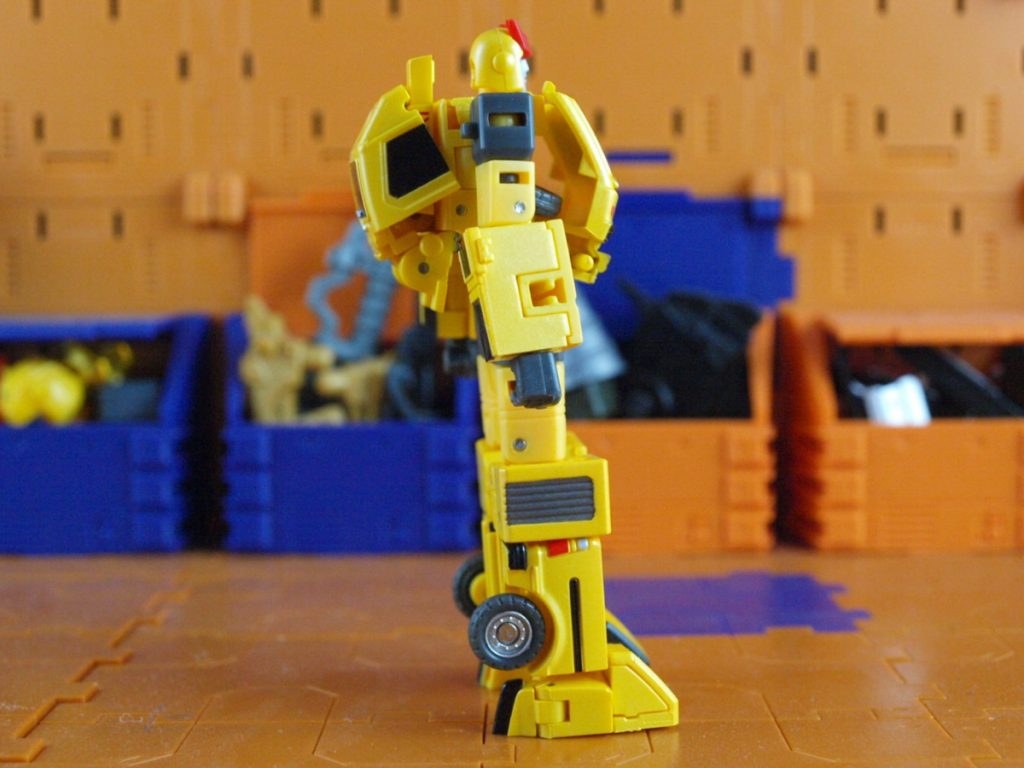 Tata robot mode side view