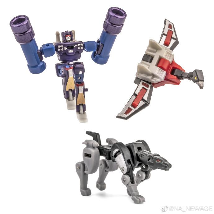 New Age H21EX Scaramanga mini warriors
