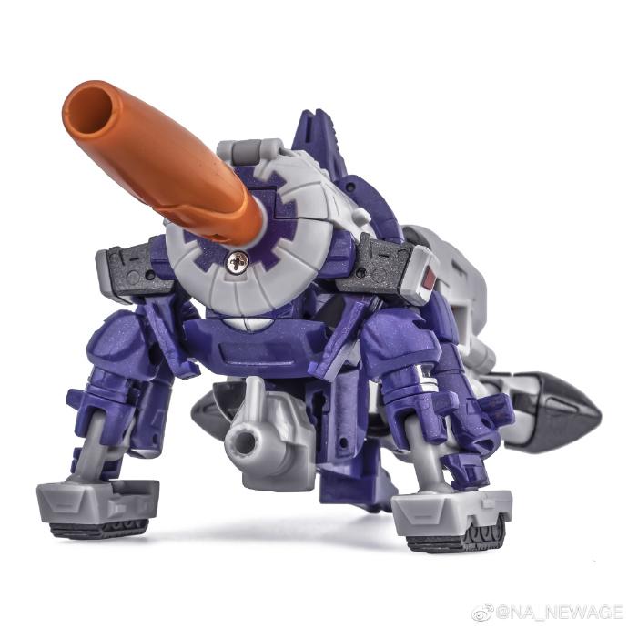 New Age Darius cannon mode
